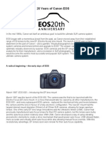 20 Years of Canon EOS