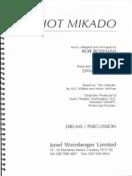 Hot Mikado - Percussion