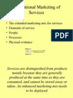 International Marketing of Services 13