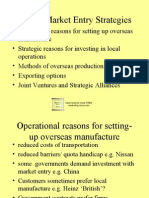 Market Entry Strategies 7