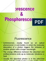 FLUORESCENCE AND PHOSPHORESCENCE