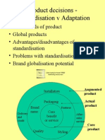 Product - Standard is at Ion v Adaptation 10