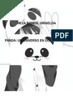 panda y gris =v