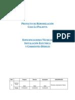 Especificaciones Tecnicas Instalacion Electrica Domiciliarias VerE