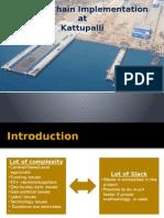 Critical Chain Implementation Shipyard