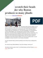 Boston Terrorist Mosque Blueprint