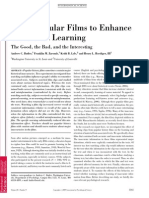 Using Popular Films to Enhance Classroom Learning