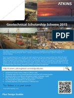 ATKINS Geotechnical Scholarship Scheme 2015 (1)