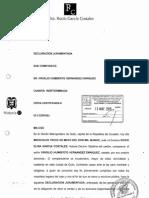 Declaración Patrimonial Jurada de Bienes