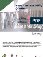 424-presn_India_Railways_Accessibility_Quotient.ppt