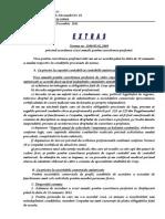 Extras Norma 1500 Din 2009-Acordarea Vizei Anuale