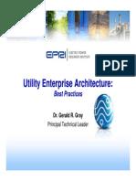 Utility Enterprise Architecture Best Practices - Webcast