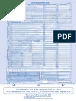 F22 Formulario de declaración de renta
