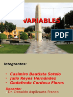 Trabajo de Variables