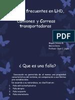 Fallas Frecuentes en Lhd, Dumper y Correa