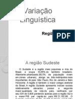 25 03 15 Variação Linguística