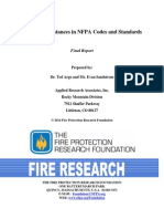 Separation Distance NFPA Codes and Standards