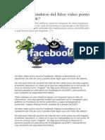 Cómo Defenderse Del Falso Video Porno en Facebook1