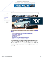 Plymouth Belvedere - Plaza - Savoy With Reviews