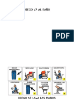 Trabajo de secuencias (hábitos diarios) con pictogramas
