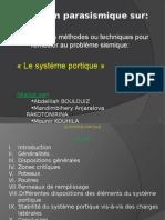 Exposé système Portique