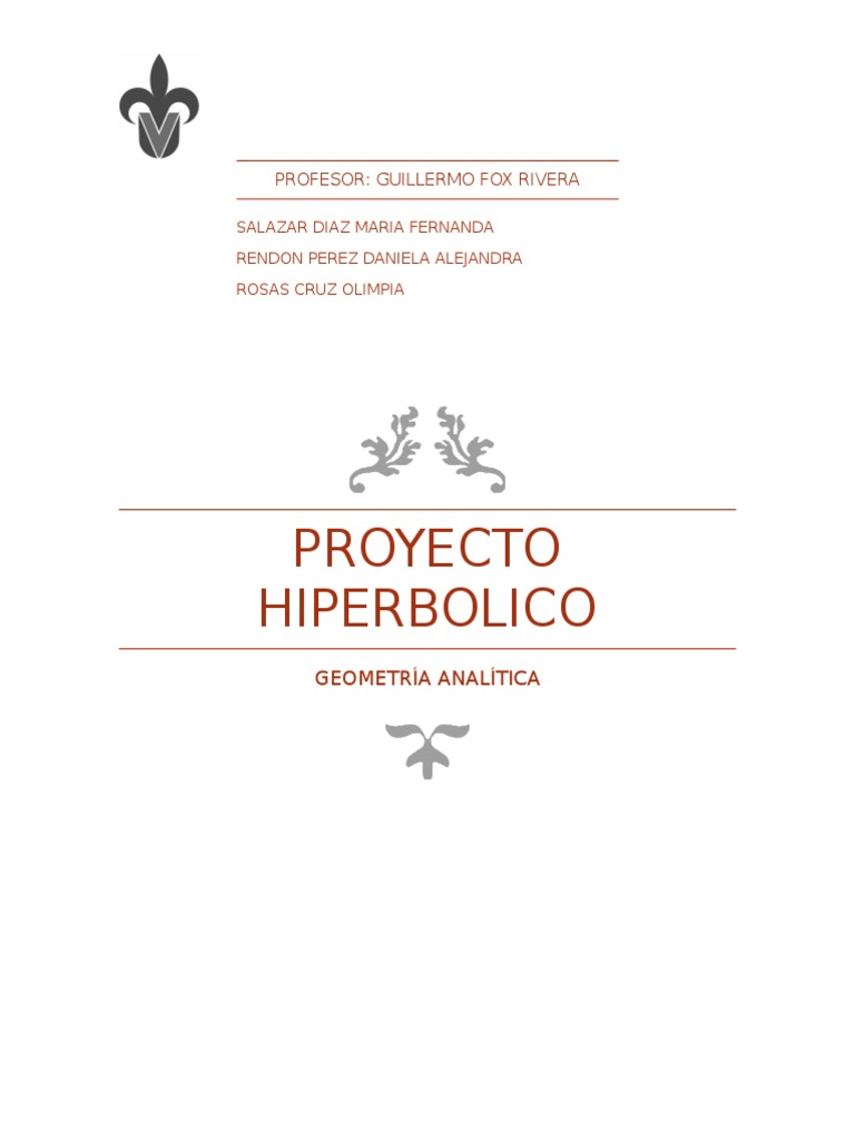 proyecto hiperbolico