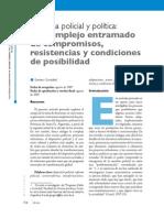Reforma Policial y Política._. Gustavo González