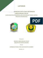 2015-Sub Kegiatan Pengendalian Kerusakan Tanah Utk Produksi Biomassa Di Kab. Banyuwangi
