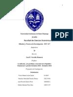 Propuesta de Investigación - SOC 127, Sección 26