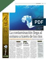 La Contaminación Llega Al Océano a Través de Los Ríos