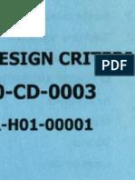 Environmental Design Criteria