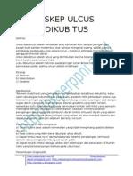 ASKEP ULCUS DIKUBITUS