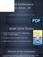 msan conference