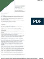 CFM 2005 - Condicões de Fornecimento de Materiais