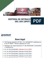 Sistema de Detracciones Modificaciones 2015