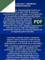 Globalizacion y Empresas Trasnacionales Las Empresas Trasnacionales