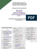 Calendario PG 2015 Sao Paulo