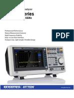 GA40XX Series Spectrum Analyzers