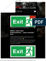 Encontrar BADI's, User-exits, Enhancements