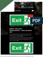 Encontrar BADI's, User-exits, Enhancements
