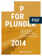 P for Plunder - 2014