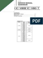 ICOM IC V80 V80E Service Manual