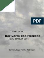 Haiku Jahrbuch 2004 Der Laerm Des Herzens
