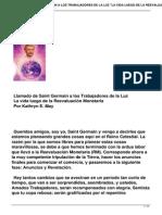 Llamado de Saint Germain a Los Trabajadores de La Luz La Vida Luego de La Reevaluacion Monetaria