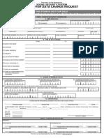 SSS Employer Data Change Request Form R-8
