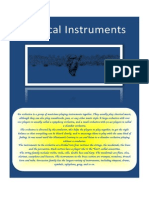 Musical Instruments Running Dictation