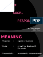 Anunoy Ppt on CSR