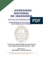 Lab Maquinas Elect Rotativas Ml-253 Marcelo - 2014-II