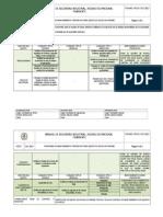 Programa de Mantenimiento Equipo de Buceo Autonomo
