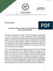 MoFA Press Statement on COI Report